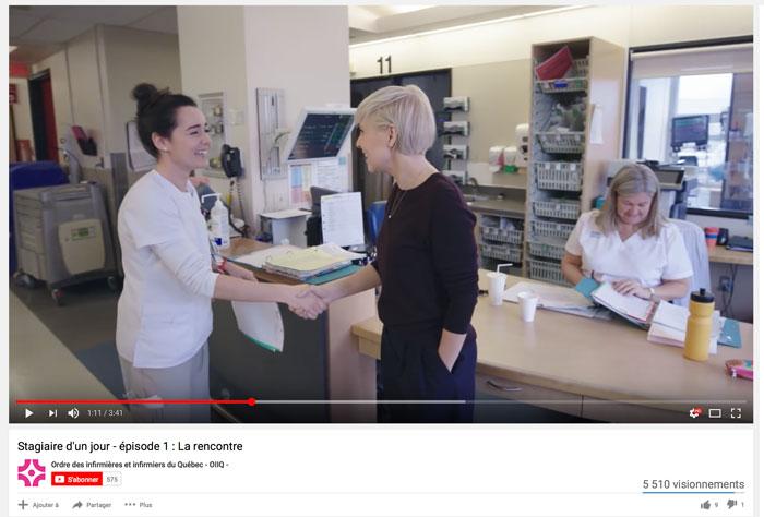Rencontres infirmière collègue